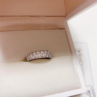 H&C ダイヤモンド リング プラチナ 1.00カラット 定価50万(リング(指輪))