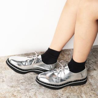 アーバンリサーチ(URBAN RESEARCH)の厚底レースアップシューズ ニコアンド ジーナシス KBF イエナ ナノユニバース(ローファー/革靴)