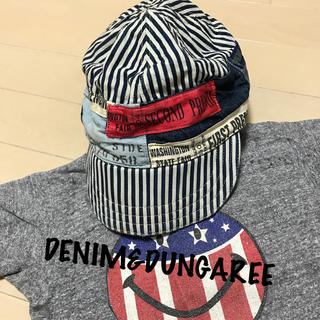 デニムダンガリー(DENIM DUNGAREE)のDD☆キャップ58cm 美品(帽子)
