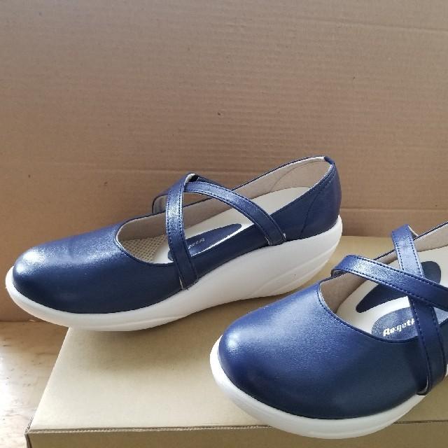 Re:getA(リゲッタ)のリゲッタトーン トーニングシューズ 6cmヒールネイビー   レディースの靴/シューズ(スニーカー)の商品写真