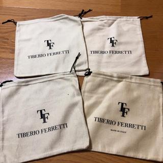 ビームス(BEAMS)のtiberio ferretti 巾着袋4枚(ショップ袋)