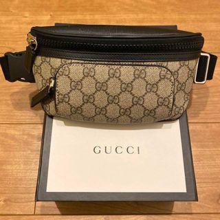 グッチ(Gucci)のGUCCI グッチ GGスプリーム ベルトバッグ ほぼ未使用品(ボストンバッグ)