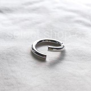 アダムエロぺ(Adam et Rope')のシルバー925  カーブデザインリング アサミフジカワ  好き(リング(指輪))