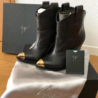 ジュゼッペザノッティ(GIUZEPPE ZANOTTI)の15.6万/Giuseppe Zanotti ショートブーツ/36(ブーツ)