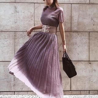 エイミーイストワール(eimy istoire)のランダムプリーツニットスカート&トップスセット❣️(セット/コーデ)