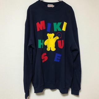 ミキハウス(mikihouse)のMIKI HOUSE ミキハウス 90s スウェット 日本製(スウェット)