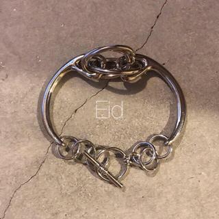 フリークスストア(FREAK'S STORE)のMix chain silver bracelet No.156(ブレスレット/バングル)