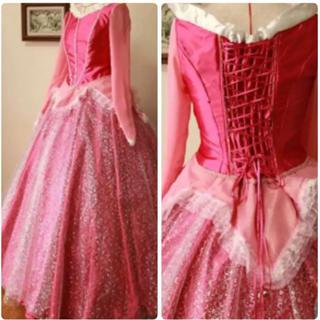 オーロラ姫ドレス
