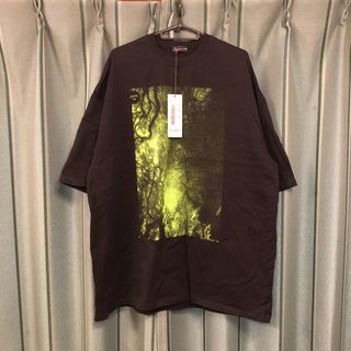 ラッドミュージシャン(LAD MUSICIAN)のLADMUSICIAN ラッドミュージシャン スーパービッグTシャツ森林プリント(Tシャツ/カットソー(半袖/袖なし))