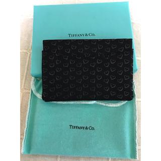 ティファニー(Tiffany & Co.)のTiffany(ティファニー) 印傳屋 オープンハート カードケース 名刺入れ(名刺入れ/定期入れ)