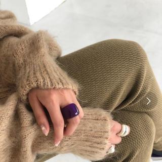 トゥデイフル(TODAYFUL)の完売!TODAYFUL Acrylic Voluminous Ring(リング(指輪))
