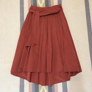 デミルクスビームス(Demi-Luxe BEAMS)のデミルクス ビームス フレアスカート 36(ひざ丈スカート)