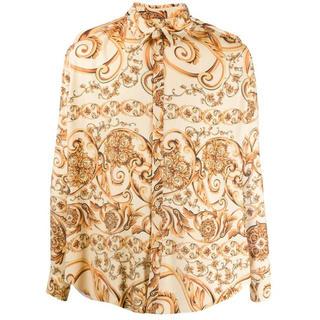 バレンシアガ(Balenciaga)のmartine rose プリーツシャツ サイズs(シャツ)