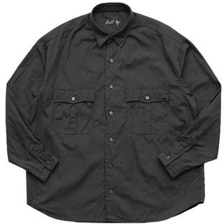 ポーター(PORTER)のPorter Classic ROLL UP DOT SHIRT BLACK(シャツ)