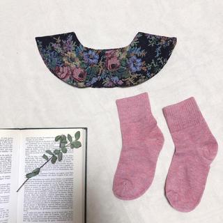 メルロー(merlot)の【本日22時までお値下げ】* merlot plus ゴブラン織のつけ襟 *(つけ襟)