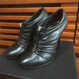 ジュゼッペザノッティ(GIUZEPPE ZANOTTI)のジュゼッペザノッティ ブーティ ブーツ 黒(ブーティ)