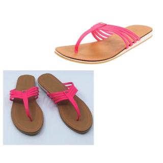 ラコステ(LACOSTE)のLACOSTE GAZAN テ ガザン サンダル Flamingo Pink(サンダル)