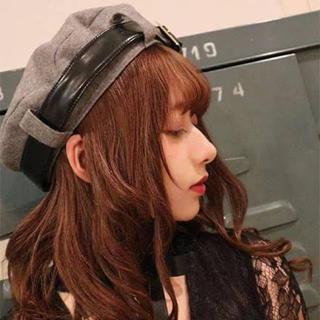 アンクルージュ(Ank Rouge)のアンクルージュ ベルトベレー帽(ハンチング/ベレー帽)
