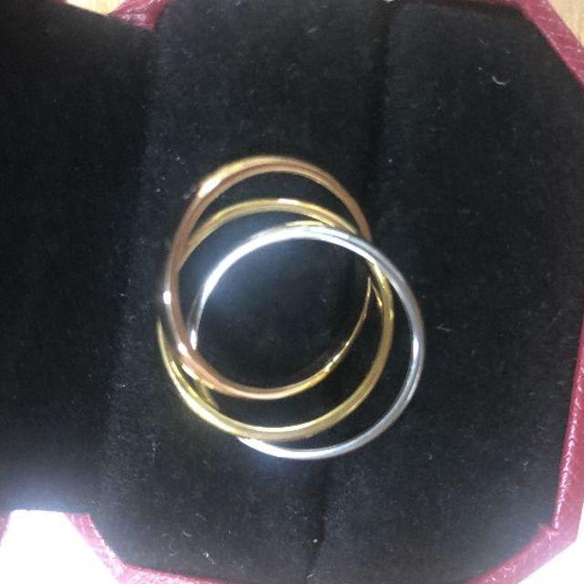 Cartier(カルティエ)のCartier カルティエ TRINITY トリニティリング  レディースのアクセサリー(リング(指輪))の商品写真