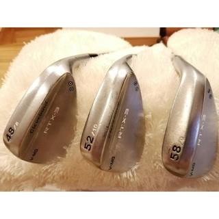 クリーブランドゴルフ(Cleveland Golf)のまさし様専用 RTX-3 BLADE ツアーサテン 48 52 58 3本セット(クラブ)
