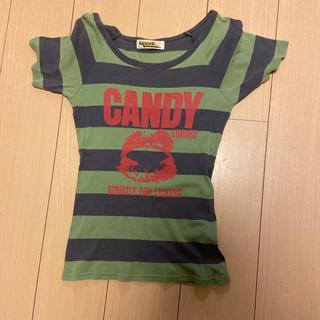 ヒステリックグラマー(HYSTERIC GLAMOUR)のヒステリックグラマー ボーダーTシャツ(Tシャツ(半袖/袖なし))
