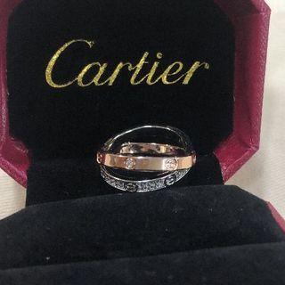カルティエ(Cartier)のCartier 指輪 カルティエ18 Kローズゴールドドリル(リング(指輪))