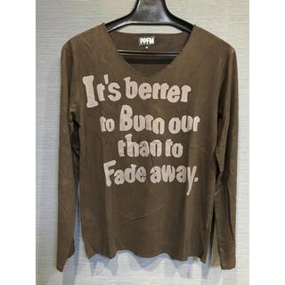 ピーピーエフエム(PPFM)のロンT PPFM(Tシャツ(長袖/七分))