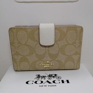 コーチ(COACH)のCOACH(コーチ)の二つ折り財布   53562(折り財布)