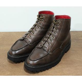 エビス(EVISU)の定価¥6.6万エヴィス山根靴店EVISU エビス Uチップブーツ モンキー(ブーツ)