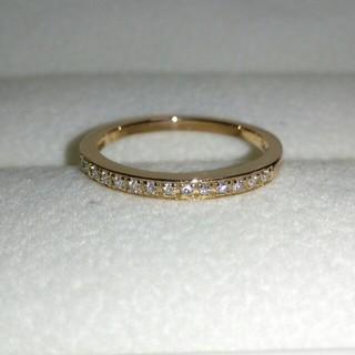 ポンテヴェキオ(PonteVecchio)のPonte Vecchio K18 ハーフエタニティ ダイヤ リング(リング(指輪))