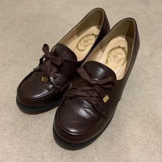 フィント(F i.n.t)の【お値下げ】フロントレースアップローファー(ローファー/革靴)