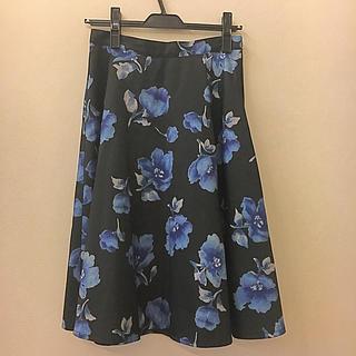 セシルマクビー(CECIL McBEE)のセシルマクビー☆花柄スカート(ロングスカート)