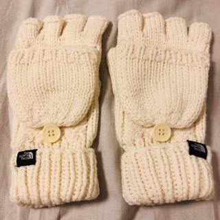 ザノースフェイス(THE NORTH FACE)のノースフェイス 手袋 ホワイト(手袋)
