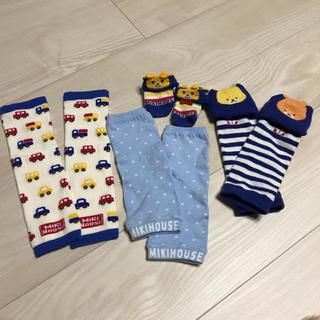 ミキハウス(mikihouse)の新品未使用&中古♡ミキハウス♡ルルロロレッグウォーマー&靴下 ソックスセット(レッグウォーマー)