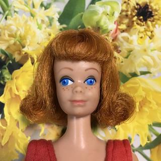 バービー(Barbie)の当時物 1950年代 後半 ビンテージバービーの友達 ミッジ スイムスーツ 美品(人形)