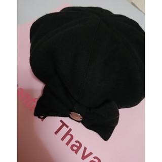 ミルク(MILK)のmilk ベレー帽 リボン(ハンチング/ベレー帽)