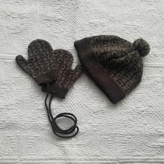 セリーヌ(celine)のCELINE baby ニット帽子 手袋(帽子)