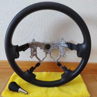 トヨタ(トヨタ)のハイエース200系4型 純正ハンドルとシフトノブセット(車種別パーツ)