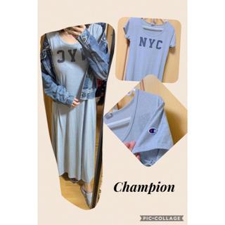 チャンピオン(Champion)のTシャツワンピース(ロングワンピース/マキシワンピース)