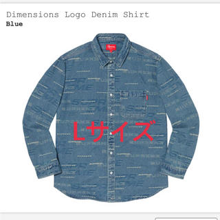 シュプリーム(Supreme)のDimensions Logo Denim Shirt(シャツ)