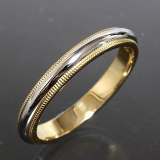 ティファニー(Tiffany & Co.)のティファニー TIFFANY&CO.ミルグレイン リング 22.5号 3mm幅(リング(指輪))
