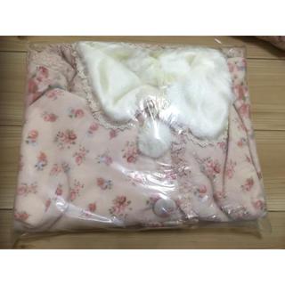 LIZ LISA - リズリサ ポンチョ 花柄 ピンク 新品