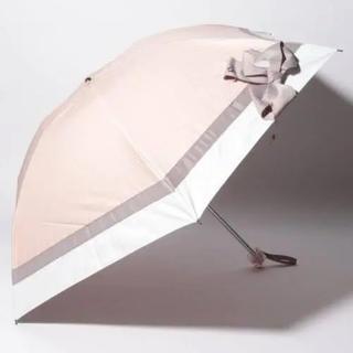 ランバンオンブルー(LANVIN en Bleu)のLANVIN ランバンオンブルー 晴雨兼用 折りたたみ傘 遮光 新品未使用(傘)