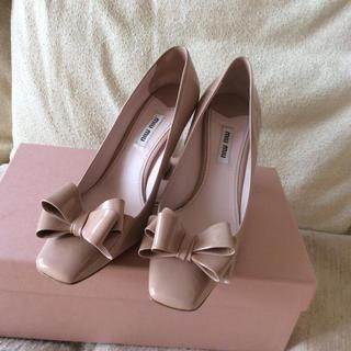 ミュウミュウ(miumiu)のミュウミュウ♡お靴(ハイヒール/パンプス)