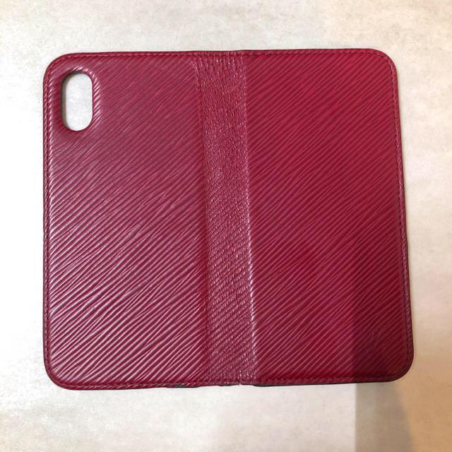 iphone8 ケース diesel - LOUIS VUITTON - ヴィトン エピ フォリオ フューシャ iPhoneXの通販