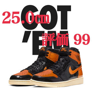 ナイキ(NIKE)のAIR JORDAN 1 SHATTERED BACKBOARD 3.0(スニーカー)