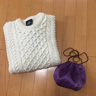 トゥデイフル(TODAYFUL)のtodayful サテンミニパース ♡パープル  巾着 bag(その他)