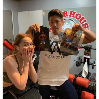 アディダス(adidas)のIFBB PRO 湯浅 Tシャツ XL CRONOS XENO LYFT COR(Tシャツ/カットソー(半袖/袖なし))