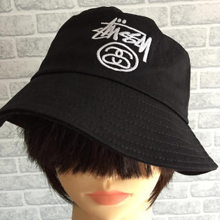 ステューシー(STUSSY)の新品 ステューシー シャネル バケットハット 帽子 Stüssy キャップ(ハット)