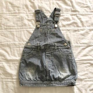 ザラキッズ(ZARA KIDS)の★送料込★  babygap 80 サロペット スカート ジャンパースカート(ワンピース)
